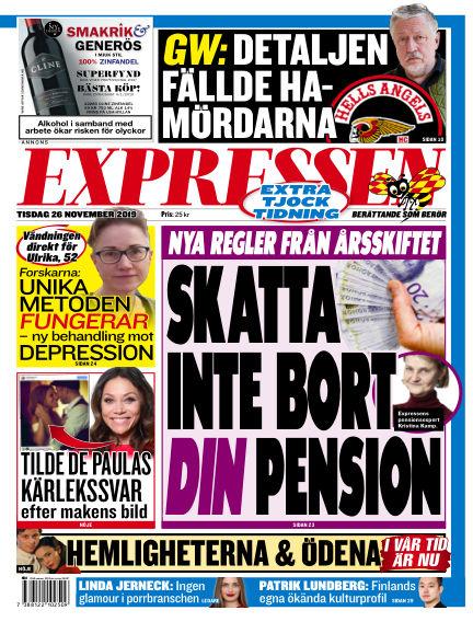Expressen November 26, 2019 00:00