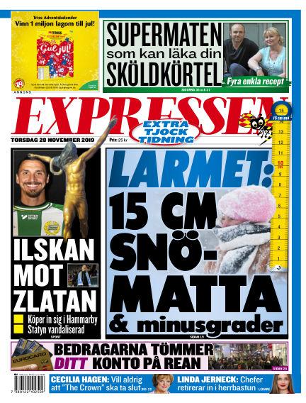 Expressen November 28, 2019 00:00