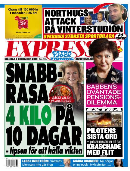 Expressen December 02, 2019 00:00