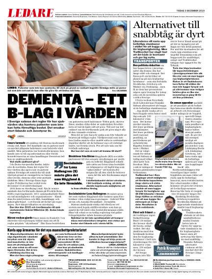 Expressen December 03, 2019 00:00