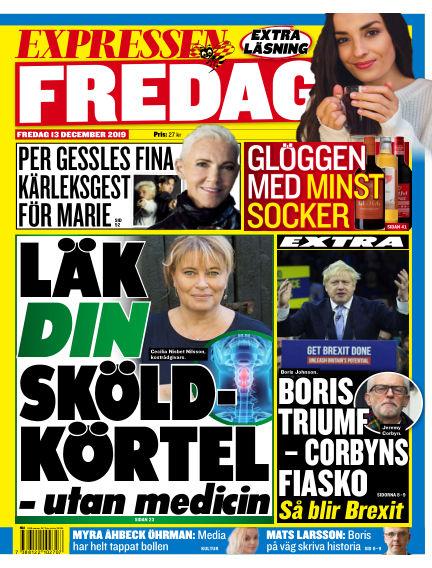 Expressen December 13, 2019 00:00