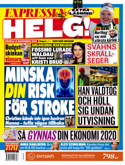 Expressen December 15, 2019 00:00
