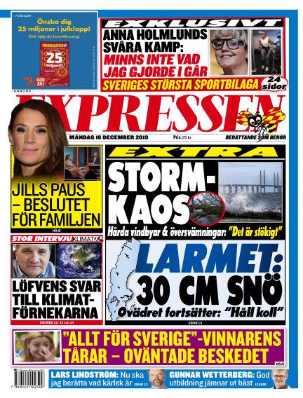 Expressen December 16, 2019 00:00