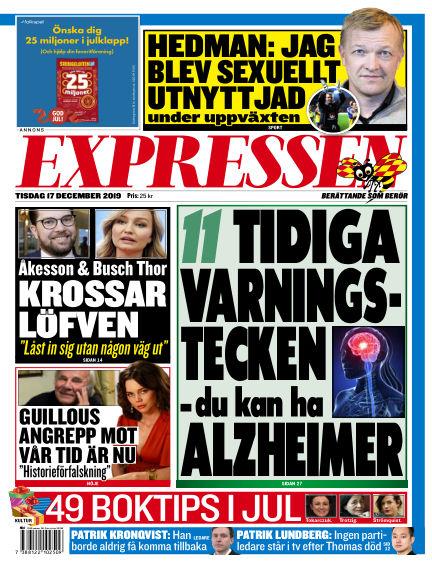 Expressen December 17, 2019 00:00