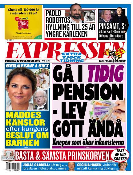 Expressen December 19, 2019 00:00