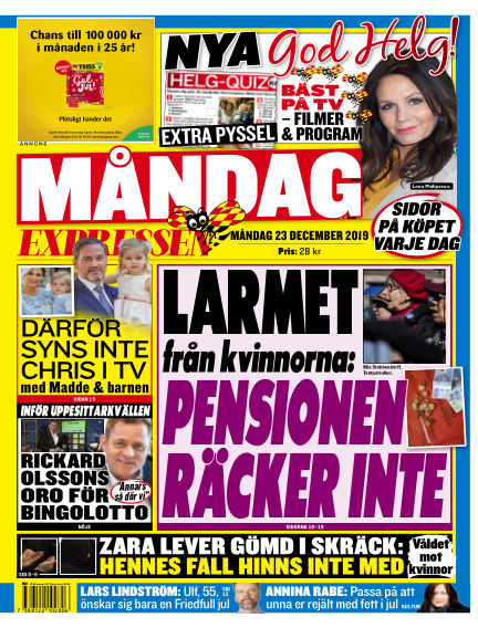 Expressen December 23, 2019 00:00