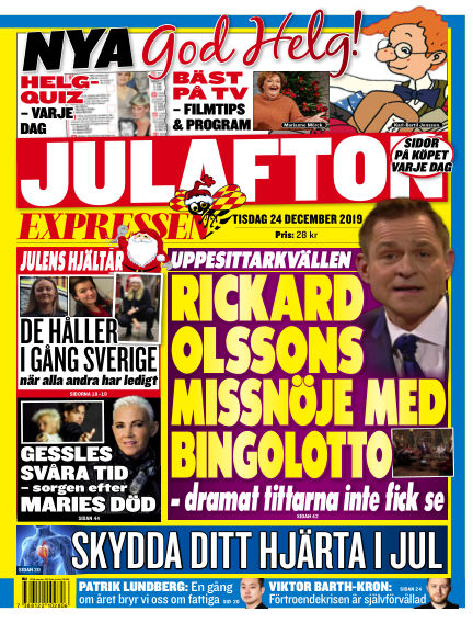 Expressen December 24, 2019 00:00