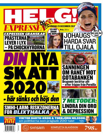 Expressen December 29, 2019 00:00