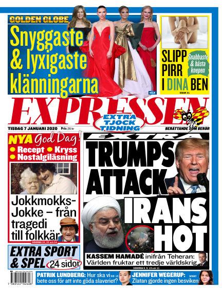 Expressen January 07, 2020 00:00