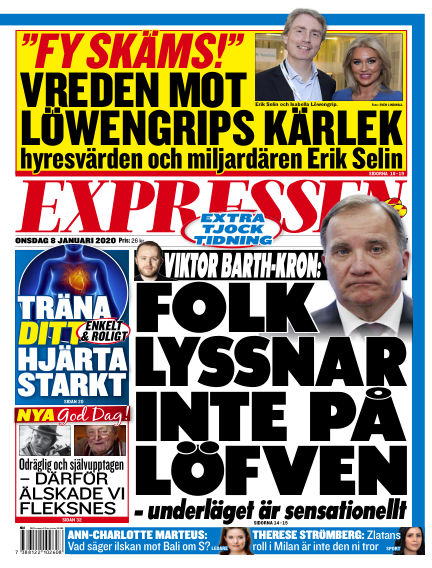 Expressen January 08, 2020 00:00