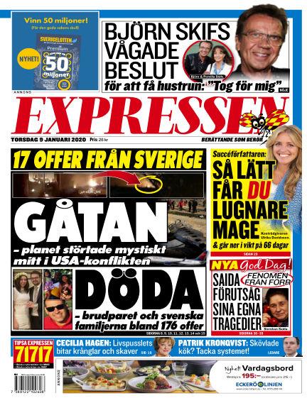 Expressen January 09, 2020 00:00