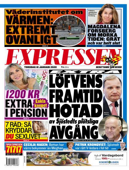 Expressen January 16, 2020 00:00