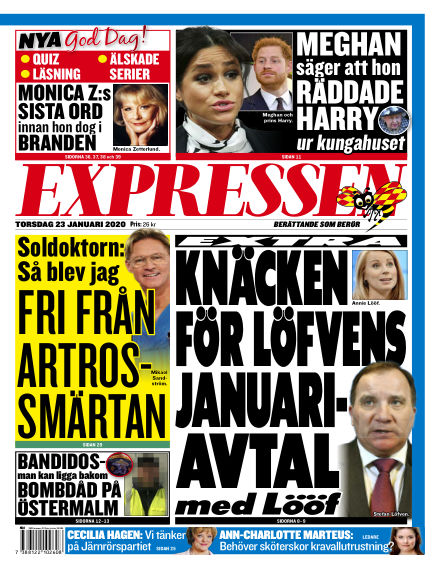Expressen January 23, 2020 00:00