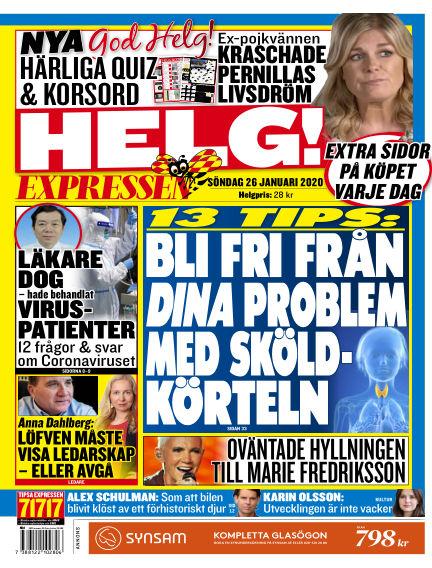 Expressen January 26, 2020 00:00