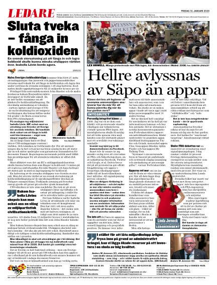 Expressen January 31, 2020 00:00