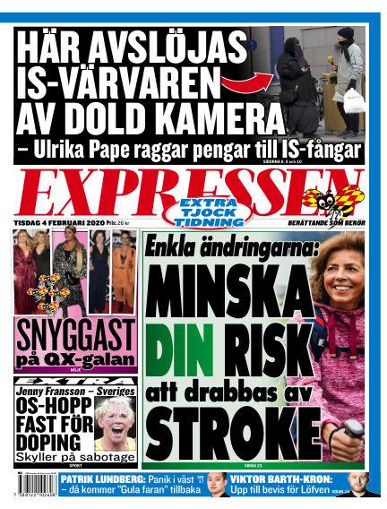Expressen February 04, 2020 00:00