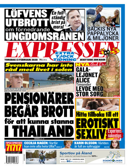 Expressen February 13, 2020 00:00