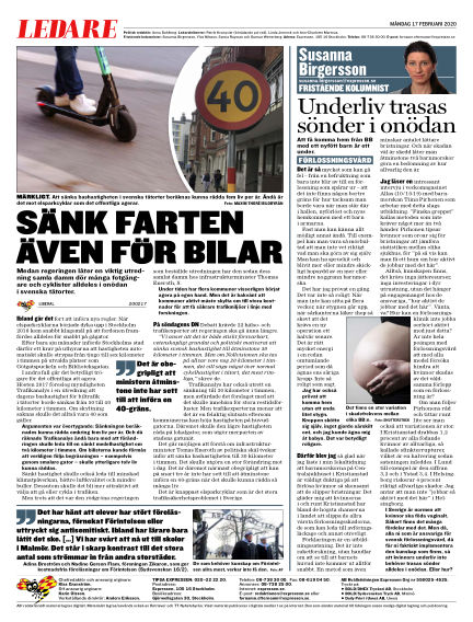 Expressen February 17, 2020 00:00