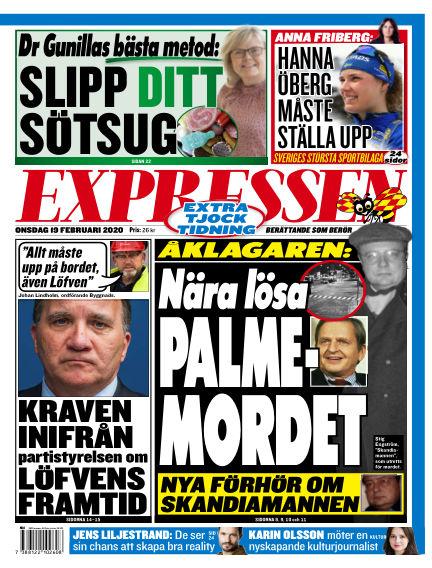 Expressen February 19, 2020 00:00