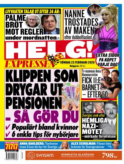 Expressen February 23, 2020 00:00