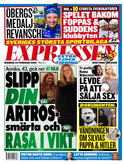 Expressen February 24, 2020 00:00