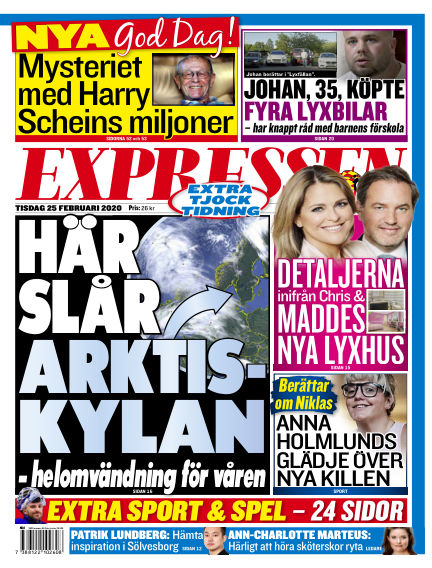 Expressen February 25, 2020 00:00