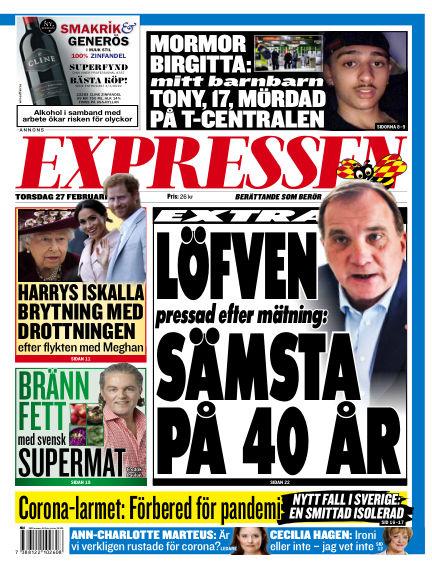 Expressen February 27, 2020 00:00