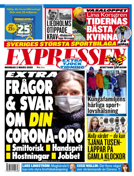 Expressen March 02, 2020 00:00