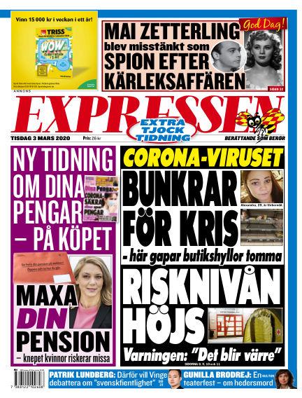 Expressen March 03, 2020 00:00