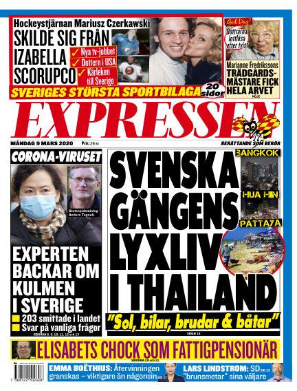 Expressen March 09, 2020 00:00