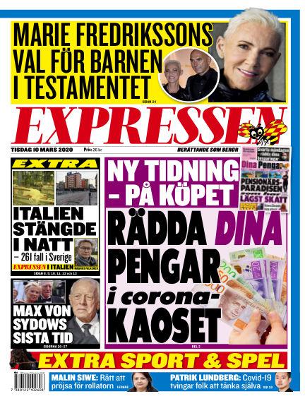 Expressen March 10, 2020 00:00
