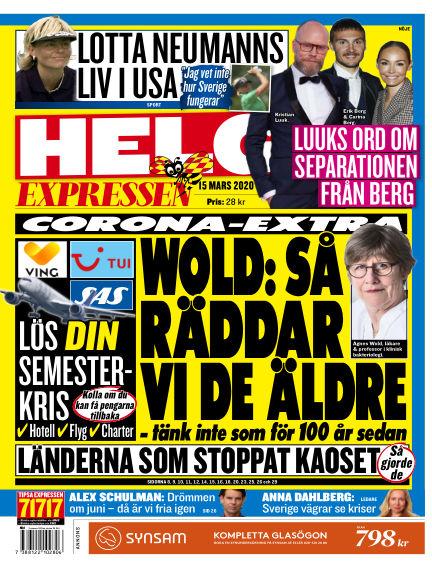 Expressen March 15, 2020 00:00