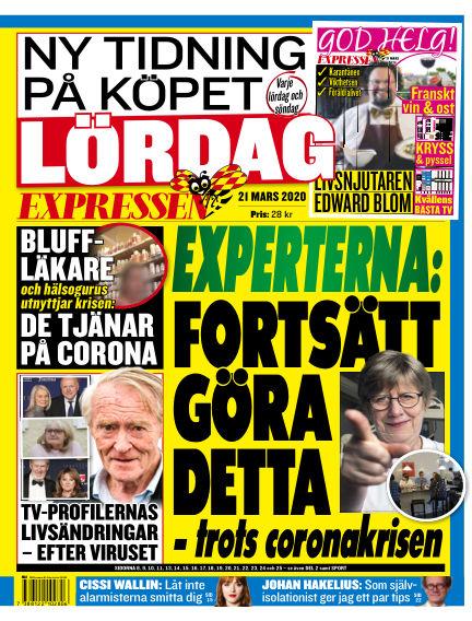 Expressen March 21, 2020 00:00