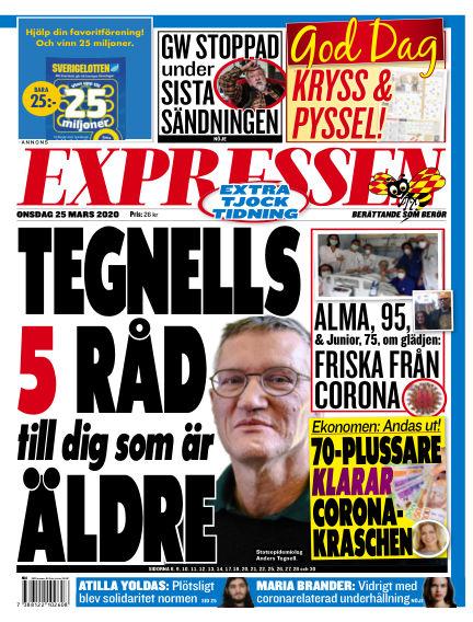 Expressen March 25, 2020 00:00