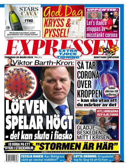 Expressen March 26, 2020 00:00