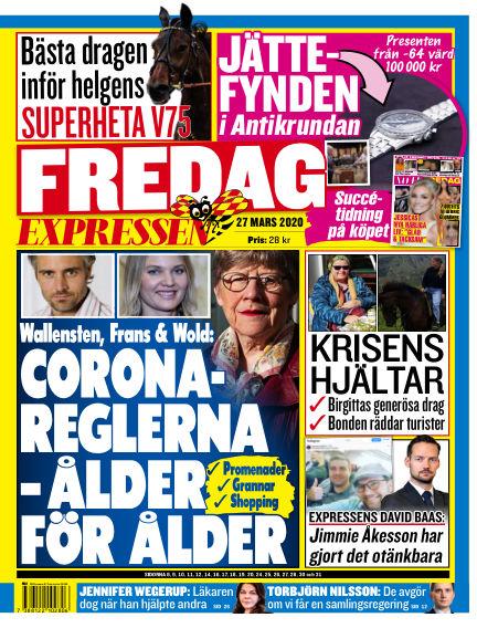 Expressen March 27, 2020 00:00