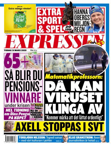 Expressen March 31, 2020 00:00
