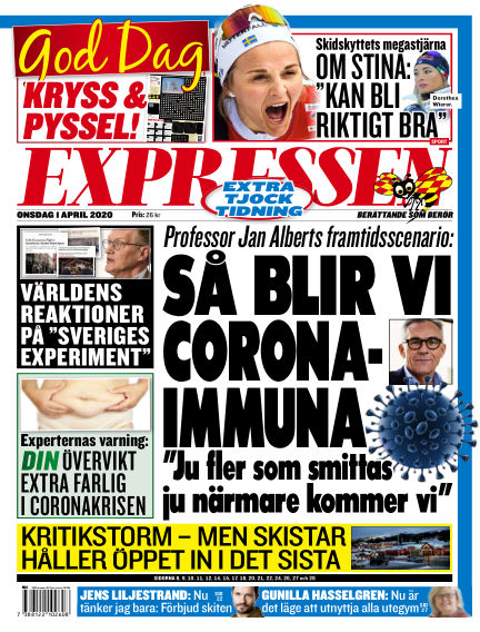Expressen April 01, 2020 00:00
