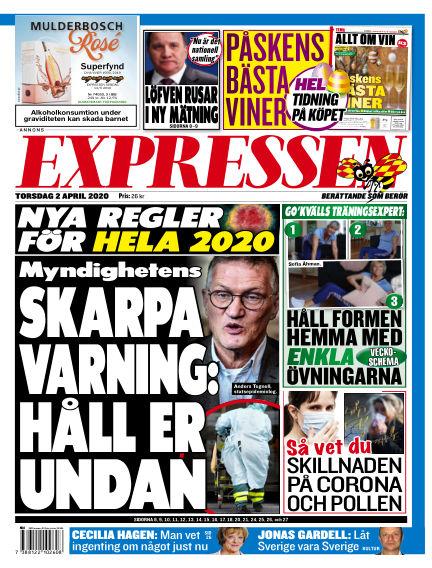 Expressen April 02, 2020 00:00