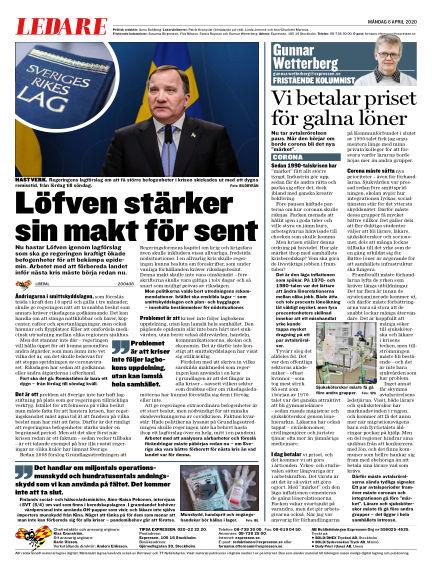 Expressen April 06, 2020 00:00
