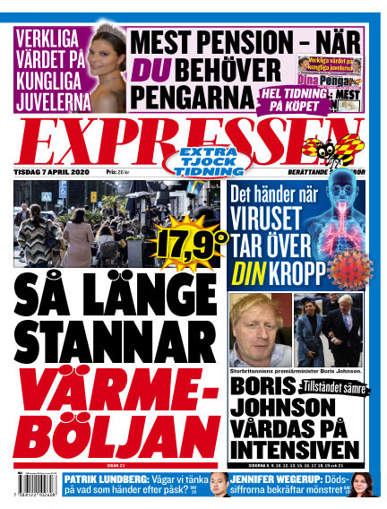 Expressen April 07, 2020 00:00
