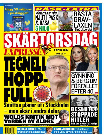 Expressen April 09, 2020 00:00