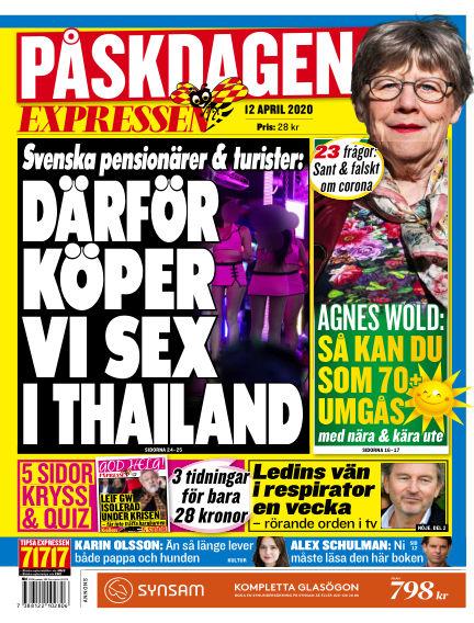 Expressen April 12, 2020 00:00