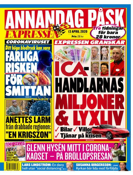 Expressen April 13, 2020 00:00