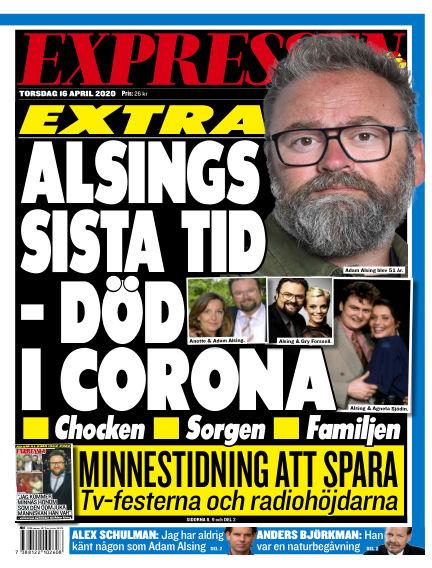 Expressen April 16, 2020 00:00