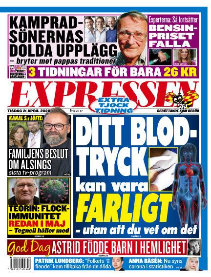 Expressen April 21, 2020 00:00