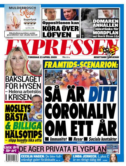 Expressen April 23, 2020 00:00