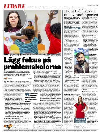Expressen April 28, 2020 00:00