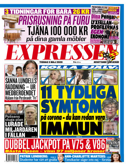Expressen May 05, 2020 00:00