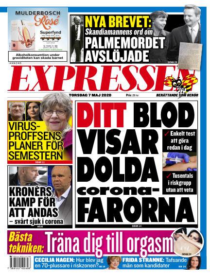 Expressen May 07, 2020 00:00